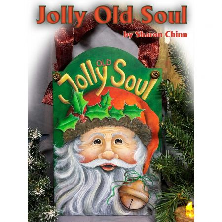 Jolly Old Soul Santa ePattern by Sharon Chinn - BY DOWNLOAD