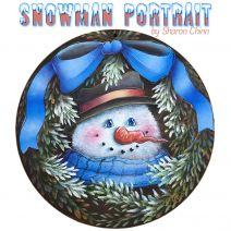 Snowman Portrait ePattern by Sharon Chinn - BY DOWNLOAD