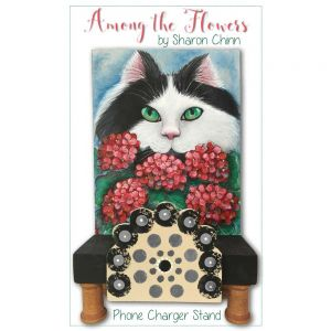 Cat Among the Flowers ePattern by Sharon Chinn - BY DOWNLOAD