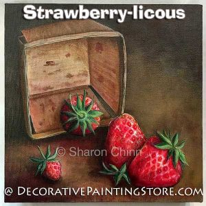 Strawberry-licous Pattern - Sharon Chinn - BY MAIL