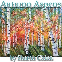 Autumn Aspens Pattern by Mail - Sharon Chinn