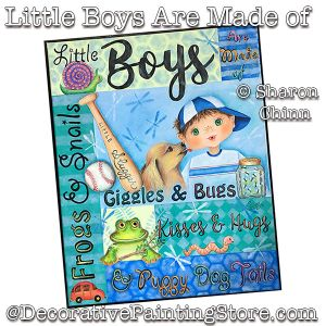Little Boys Are Made of BY MAIL - Sharon Chinn