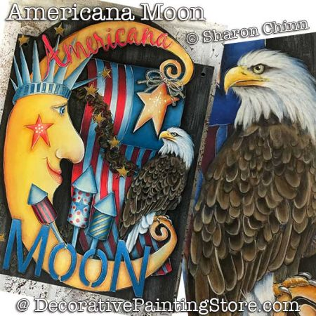 Americana Moon Banner Booklet by Mail - Sharon Chinn