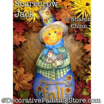 Scarecrow Jack Booklet by Mail - Sharon Chinn