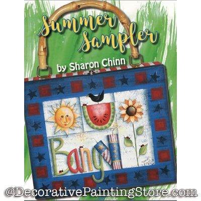 Summer Sampler Booklet By Mail - Sharon Chinn