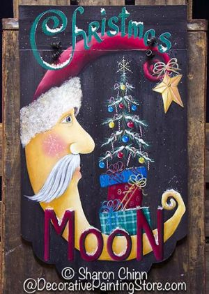 Christmas Moon Banner Pattern BY MAIL