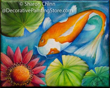 A Little Koi Pattern BY DOWNLOAD