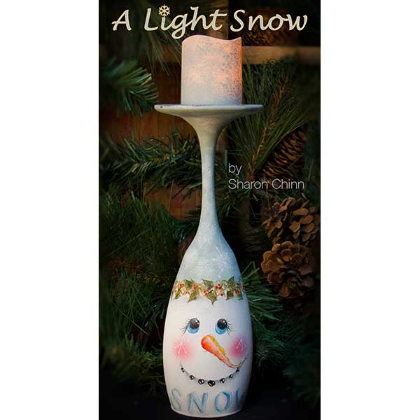 A Light Snow Tea Light Holder ePattern - Sharon Chinn - PDF Download