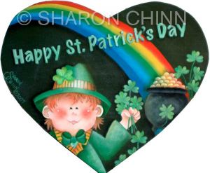 Leprechaun Heart ePattern by Sharon Chinn