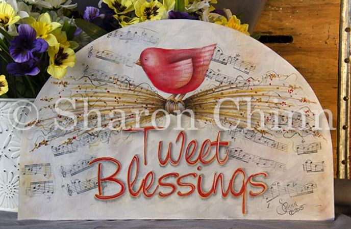 Tweet Blessings ePattern by Sharon Chinn