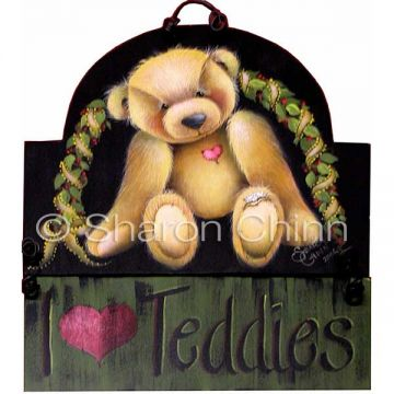 Stubbed Toe Teddy ePattern by Sharon Chinn