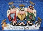 Herd on High Pattern - Sharon Cook - PDF DOWNLOAD