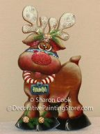 Rudolph the Reindeer Pattern - Sharon Cook - PDF DOWNLOAD