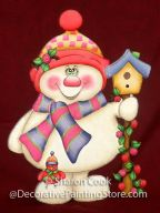 Springtime Snowman Pattern - Sharon Cook - PDF DOWNLOAD