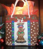 Holly Jolly Reindeer Pattern - Sharon Cook - PDF DOWNLOAD