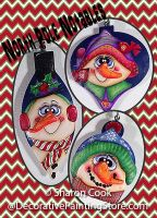 North Pole Notables Ornaments Pattern - Sharon Cook - PDF DOWNLOAD