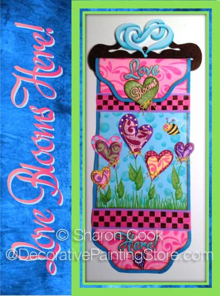 Love Blooms Here Pattern - Sharon Cook - PDF DOWNLOAD