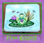 Free Kisses Frog Pattern - Sharon Cook - PDF DOWNLOAD