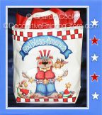 God Bless America Pattern - Sharon Cook - PDF DOWNLOAD