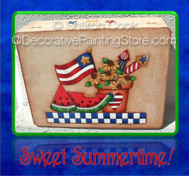 Sweet Summertime Pattern - Sharon Cook - PDF DOWNLOAD