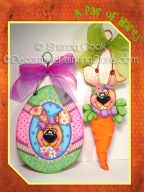 A Pair of Hares Pattern - Sharon Cook - PDF DOWNLOAD