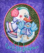 Cecil the Snowman Pattern - Sharon Cook - PDF DOWNLOAD
