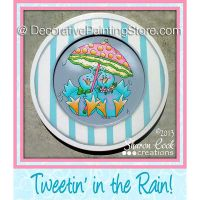 Tweetin in the Rain Pattern - Sharon Cook - PDF DOWNLOAD