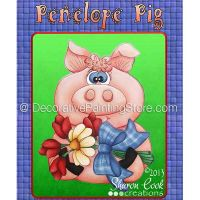 Penelope Pig Pattern - Sharon Cook - PDF DOWNLOAD