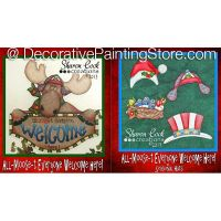 All Moost Everyone Welcome Here with Seasonal Hats - Sharon Cook - PDF DOWNLOAD