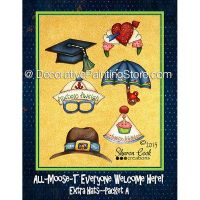 Extra Hat Set A - All Moost Everyone Welcome Here - Sharon Cook - PDF DOWNLOAD