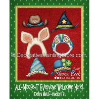 Extra Hat Set B - All Moost Everyone Welcome Here - Sharon Cook - PDF DOWNLOAD