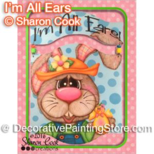Im All Ears ePattern - Sharon Cook - PDF DOWNLOAD