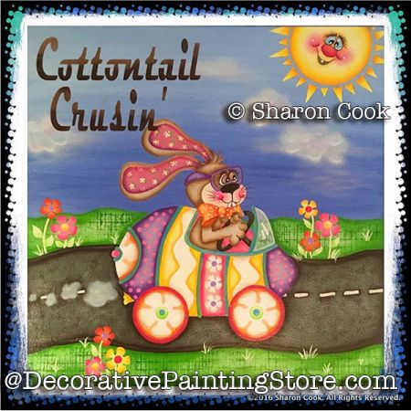 Cottontail Cruisin ePattern - Sharon Cook - PDF DOWNLOAD