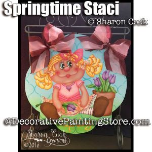 Springtime Staci ePattern - Sharon Cook - PDF DOWNLOAD