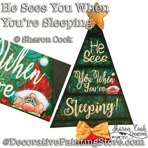 He Sees You When You-re Sleeping DOWNLOAD - Sharon Cook