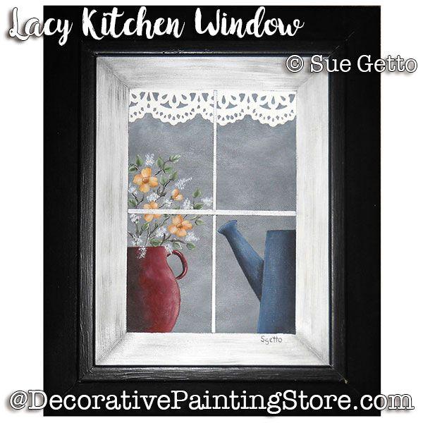 Lacy Kitchen Window ePattern - Sue Getto - PDF DOWNLOAD