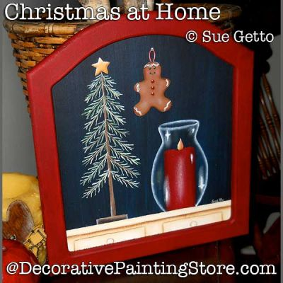 Christmas at Home DOWNLOAD Painting Pattern - Sue Getto