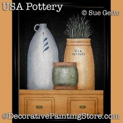 USA Primitive Still Life DOWNLOAD Painting Pattern - Sue Getto