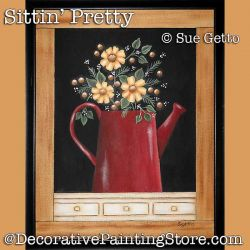 Sittin Pretty Still Life DOWNLOAD Painting Pattern - Sue Getto