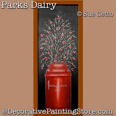 Parks Dairy DOWNLOAD Painting Pattern - Sue Getto