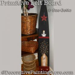Primitive Pelt Board DOWNLOAD Painting Pattern - Sue Getto