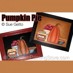 Pumpkin Pie DOWNLOAD Painting Pattern - Sue Getto