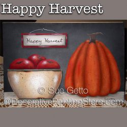 Happy Harvest DOWNLOAD Painting Pattern - Sue Getto