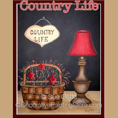 Country Life DOWNLOAD Pattern - Sue Getto
