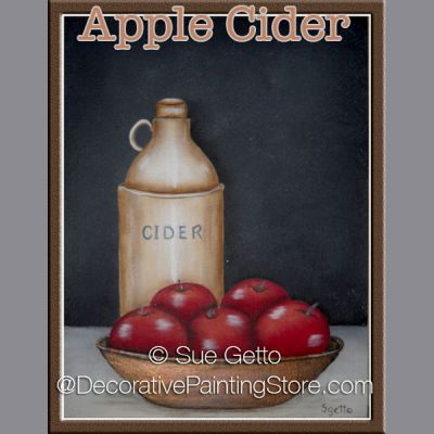 Apple Cider DOWNLOAD Pattern - Sue Getto
