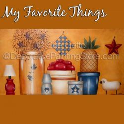 My Favorite Things DOWNLOAD Pattern - Sue Getto