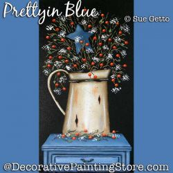 Pretty in Blue DOWNLOAD Pattern - Sue Getto