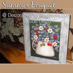 Summer Bouquet DOWNLOAD Pattern - Sue Getto