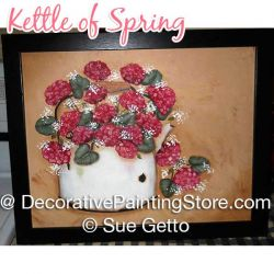 Kettle of Spring DOWNLOAD Pattern - Sue Getto