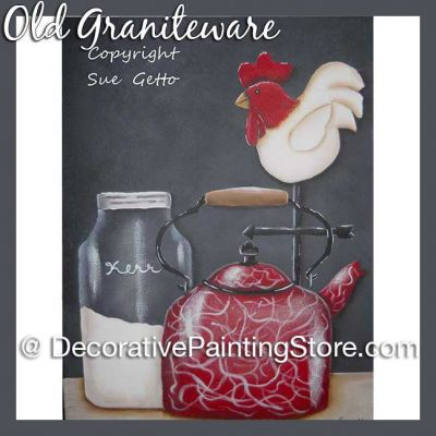 Old Graniteware DOWNLOAD Pattern - Sue Getto